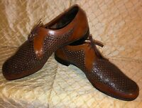 Bench Made In England Especially For Hitchcock Shoes 16 E Brown Lace Up Shoes