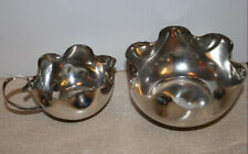 1930s Art Deco Silver Plated Tea Set Sugar Bowl and Milk Jug NC