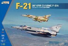 KINETIC K48053 1/48 IAF KFIR C1 / USMC F-21A