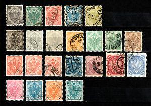 Lot Österreich / Bosnien&Herzegowina ( 1879 - 1905 )