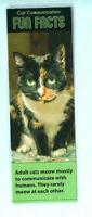 Cat Bookmark Kitten Tortoiseshell Lover Feline Facts Book Novelty Funny Gift Her