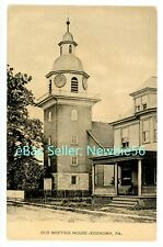 Economy Pa - Old Meeting House - Postcard Beaver County