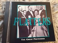 %  the great pretender the platters cd freepost in very good condition