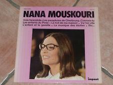 "DISQUE VINYLE 33 T. NANA MOUSKOURI ""NANA MOUSKOURI"" IMPACT 6371 115 / TB ÉTAT"