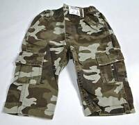 """""""NWT"""" Baby Boy's The Children's Place Camouflage Cargo Pants 3-6 M or 6-9 Months"""