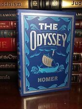 The Odyssey by Homer Brand New Leather Bound Collectible Deluxe Edition Classic