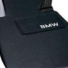 BMW OEM X5 Carpeted Floor Mats Black 82110008635