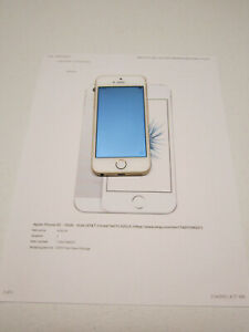 iPhone SE - 16 Gb - Gold (AT&T - Cricket - Net10 - H2O)