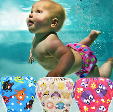 Toddler Baby Boys Girls Cute Cartoon Print Beach Swimming trunks Nappies Shorts