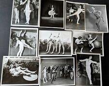 Vintage 1955 Tatiana Luhobenko & Other Ballet Candid Photo Lot #2(10pcs) BB