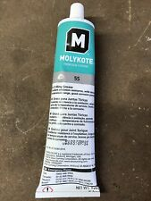 New listing Dow Corning Molykote 55 O-Ring Silicone Grease Lubricant 5.3Oz Tube Brand New