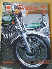 VJMC TANSHA MAGAZINE JUN 2004 ISSUE 3 KE175 CBX ANNUAL RALLY UPDATE EVENTS