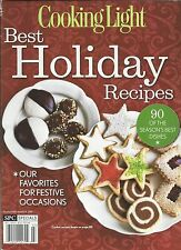 Cooking Light Best Holiday Recipes Magazine Breads Desserts Appetizers  Beverages