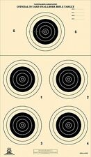 A-23/5 [A23/5] NRA Official 50 Yard Smallbore Rifle Target, on Tagboard (22)