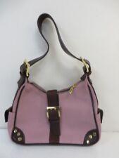 Valentina Italy Pink Pebbled Leather Shoulder Bag