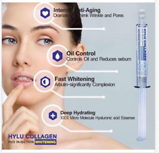 New HYLU Collagen Serum Whitening Micro Essence Reduce Wrinkles 10 ml