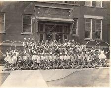 1920s HALLOWEEN SCHOOL PHOTO Costume Play COPS FAIRIES ELVES Top Hats Dunce Caps
