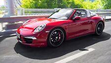 2015 Porsche 911 Targa ( red ) 24 x 36 Poster