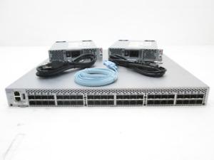 Brocade DS-6510B 16GB 48-Port FC Switch 100-652-595 w/ 24x Active Ports