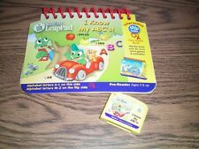 Leap Frog My First Leap Pad I know my ABC's preschool book & Cartridge GUC