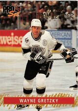 1992-93 Pro Set Gold Team Leaders #6 Wayne Gretzky   **  Kings  **