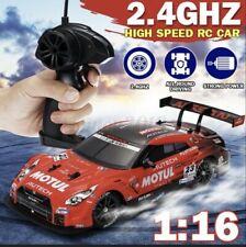 4WD Drifter 30km/h RC Ferngesteuertes Auto Drift Rennwagen 1/16 Spielzeug 2,4Ghz