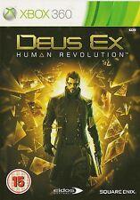 XBOX 360 DEUS EX HUMAN REVOLUTION GAME UK RELEASE