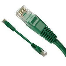 10 LOT 1/2FT Green Cat6 Network LAN Copper Cable Ethernet patch Rj45 pack Half