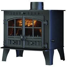 Hunter Herald 14 Flat Top Stove Multi Fuel Wood Burning Fire New