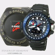 Authentic Casio G-Shock Men's Gulfmaster Triple Sensor Digital Watch GWN1000B-1B