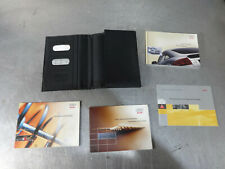 Audi TT 3.2 v6 Quattro 2001-2006 service history manuals booklet ref:9