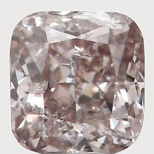 0.16 Ct Natural Loose Diamond Cut Cushion Shape Brown Color 3.10 MM I2 N5633