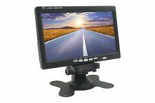 Monitor 7 Pollici TFT LCD A Colori Con Telecomando Per Auto Camper Casa