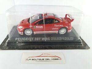 PEUGEOT 307 WRC RALLY MONTE CARLO M. GRONHOLM 2004 ALTAYA ESCALA 1:43