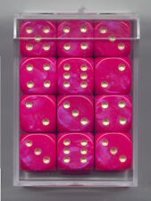 NEW Dice Cube Set of 36 D6 (12mm) - Interferenz Purple