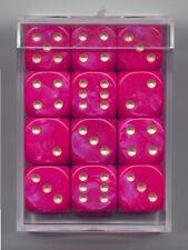 NEW Dice Cube Set of 36 D6 (12mm) - Interferenz Purple