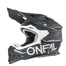 O`Neal Crosshelm Enduro 2 Series ONEAL Slingshot schwarz weiss Gr. S 55-56 cm
