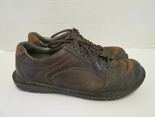 Born Women's Size 9 Brown Leather Oxford Lace Up Tennis Shoes Flats