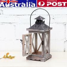 Wooden Candlestick Tealight Holder Nightlight Wedding Party Table Lantern AU