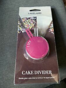 Lakeland Cake Divider NEW