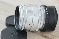 Early Silver Helios-44 (KMZ) 58mm f/2 M39 (13 blades) +adapter FX Fujifilm