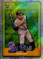 "🔥 2019 Aaron Judge Donruss NICKNAMES ""ALL RISE"" RAPTURE Holo Foil #N1 Yankees"