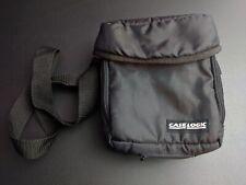 Case Logic GameBoy Color Advance DS PSP Carrying Case Black Large Soft +strap