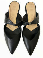 Ted Baker London Orlya Pointed Toe Mule [Size 37.5] Black NWOB