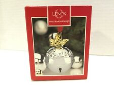 Lenox Just Jingles Dove Jingle Bell Ornament