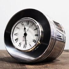 PRATT & WHITNEY 1940s WWII R-2800 MIRROR POLISHED Radial Engine Piston Clock