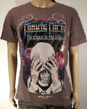 Minute Mirth Shirt.neu.Trash Skull 80`s Art Vintage Design Streetwear