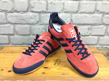 ADIDAS MENS UK 6  JEANS MKII RED NAVY TRAINERS RARE