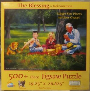 TIME BLESSING BY JACK SORENSON SUNSOUT PUZZLE