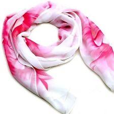 Unbranded Floral Silk Blend Scarves & Shawls for Women